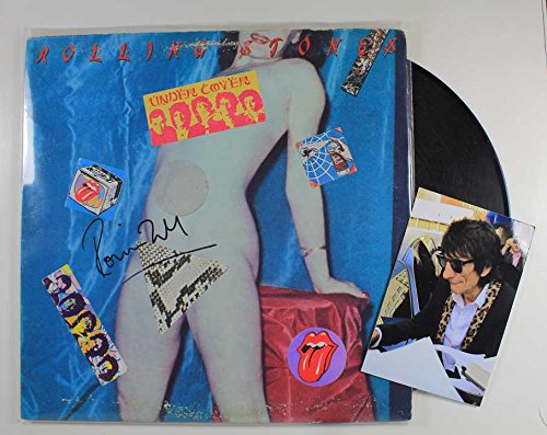 Ronnie Wood Signed Autographed