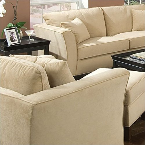 Coaster Park Place Casual Cream Upholstered Chair