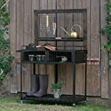 By BeauGarden Garden Potting Bench,Wood and