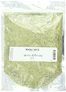 Whole Spice Garlic and Parsley Sea Salt, 1 Pound