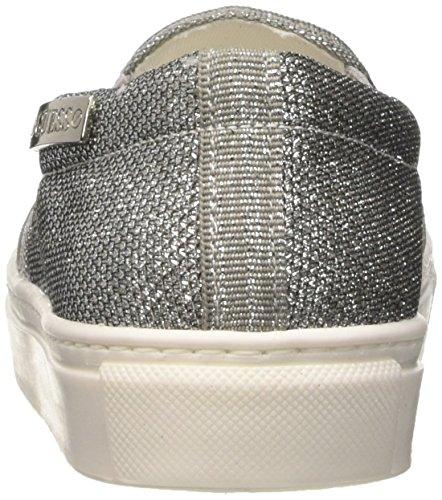Fabric Guess Da Donna Basse Active Sneakers silver Argento dqB8rSqwx