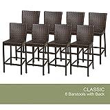 Cheap 8 Classic Barstools w/ Back