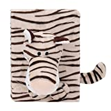 Refaxi 4 x6 Cute 3d Cartoon Animal Tiger Soft Plush Photo Album 48 Pages