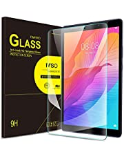 IVSO Screen Protector for HUAWEI MatePad T8, Clear Tempered-Glass Flim Screen Protector for HUAWEI MatePad T8 Tablet, 2 Pack