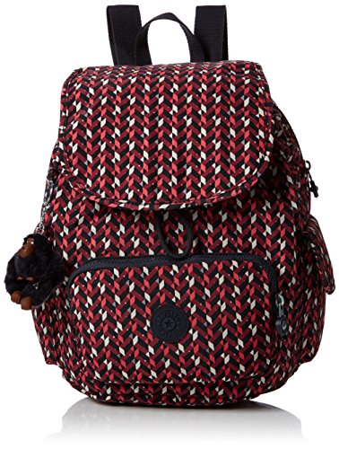 Kipling City Pack S, Sacs à dos Multicolore (Pink Chevron)