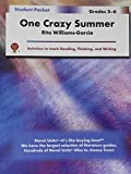 img - for One Crazy Summer - Student Packet by Novel Units, Inc. book / textbook / text book