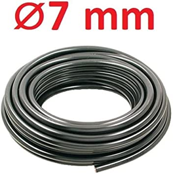 Black Sierra International 7mm Spark Plug Wire 1 foot
