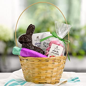 Amazon lake champlain classic dark chocolate easter gift lake champlain classic dark chocolate easter gift basket 15 pounds negle Image collections