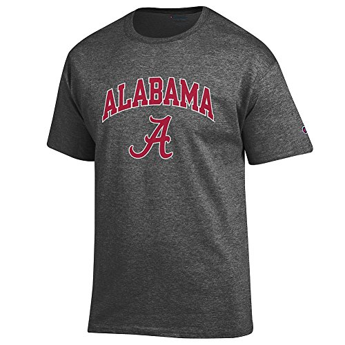 Varsity Roll (Elite Fan Shop Alabama Crimson Tide TShirt Varsity Charcoal - XXL)