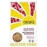 Alara Organic Gluten Free with Goji Berries & Cranberries Organic Muesli (650g) - Pack of 2