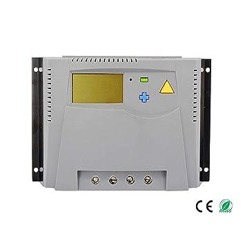 DS- Controlador solar 100A Panel Solar fotovoltaico Cargador ...