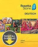 Rosetta Stone German Level 1 for Mac [Download]