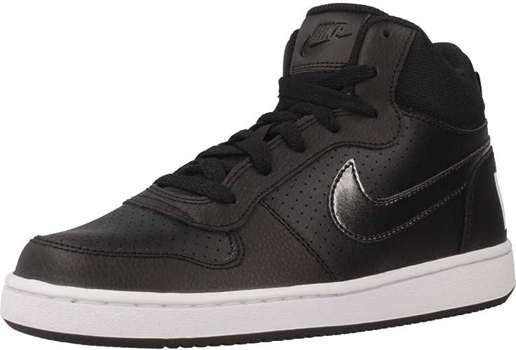 Nike Court Borough Mid (GS), Zapatillas de Baloncesto para Mujer ...