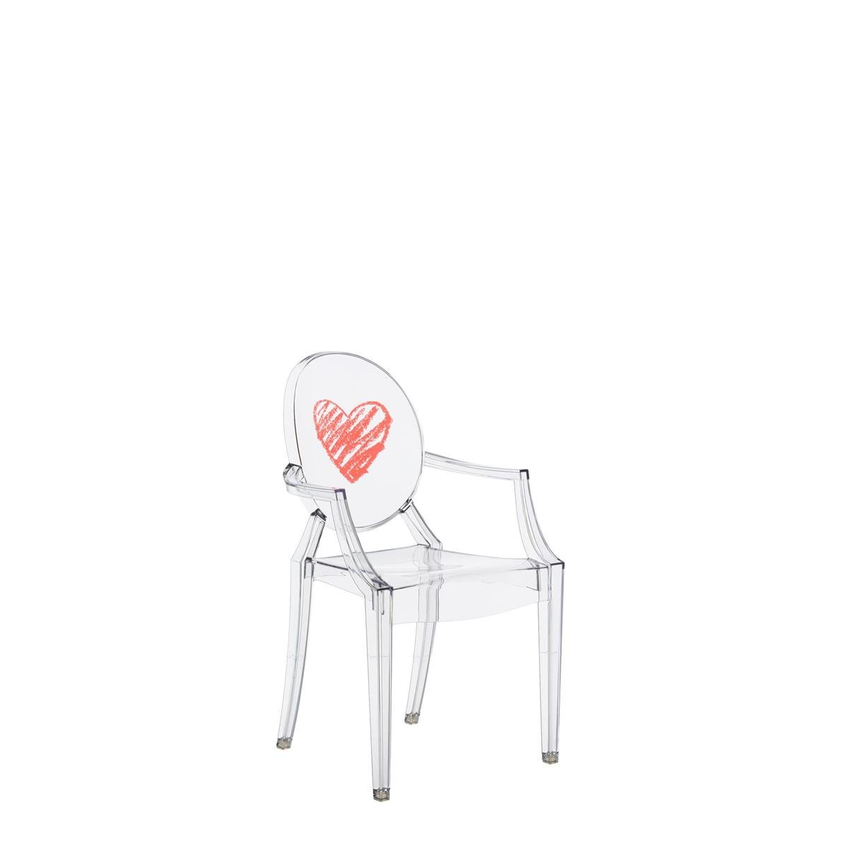 Kartell Lou Ghost Chaise - 2.7 x 37 x 63 cm