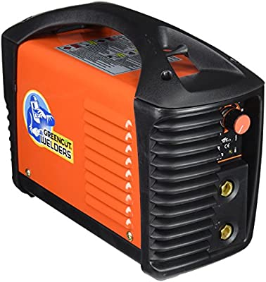 GREENCUT ARC-200P Soldador Inverter Turbo Ventilado, Naranja, 200 A