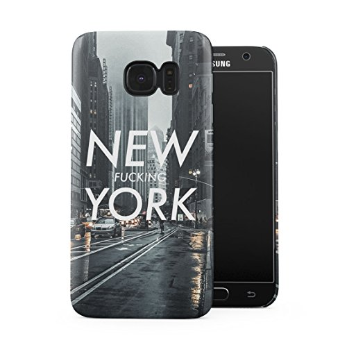 United States New Fucking York Streets Bronx Plastic Phone Snap On Back Case Cover Shell for Samsung Galaxy S7