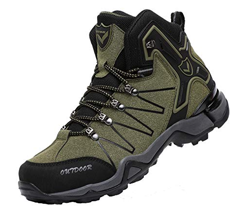 Men's Mid Hiking Boots Outdoor Backpacking Boots Lightweight Hiker