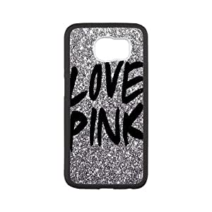 LOVE PINK case generic DIY For Samsung Galaxy S6 MM9O990810