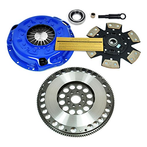 EF STAGE 3 HD CLUTCH KIT w/ PROLITE FLYWHEEL for 90-96 NISSAN 300ZX TWIN (300zx Turbo)
