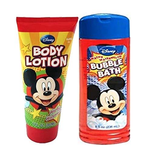 (Disney Mickey Bathing & Skin Care (bubble bath & body Lotion))