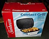 Cheap SUNBEAM CONTACT GRILL