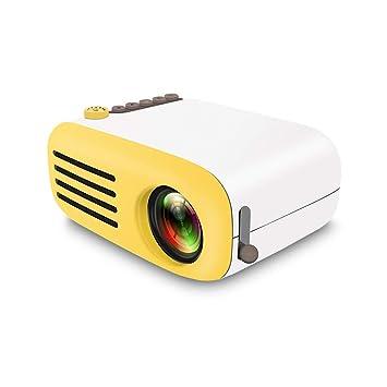 ZUKN Mini Proyector LED Portátil HD 1080P Teléfono Móvil con ...