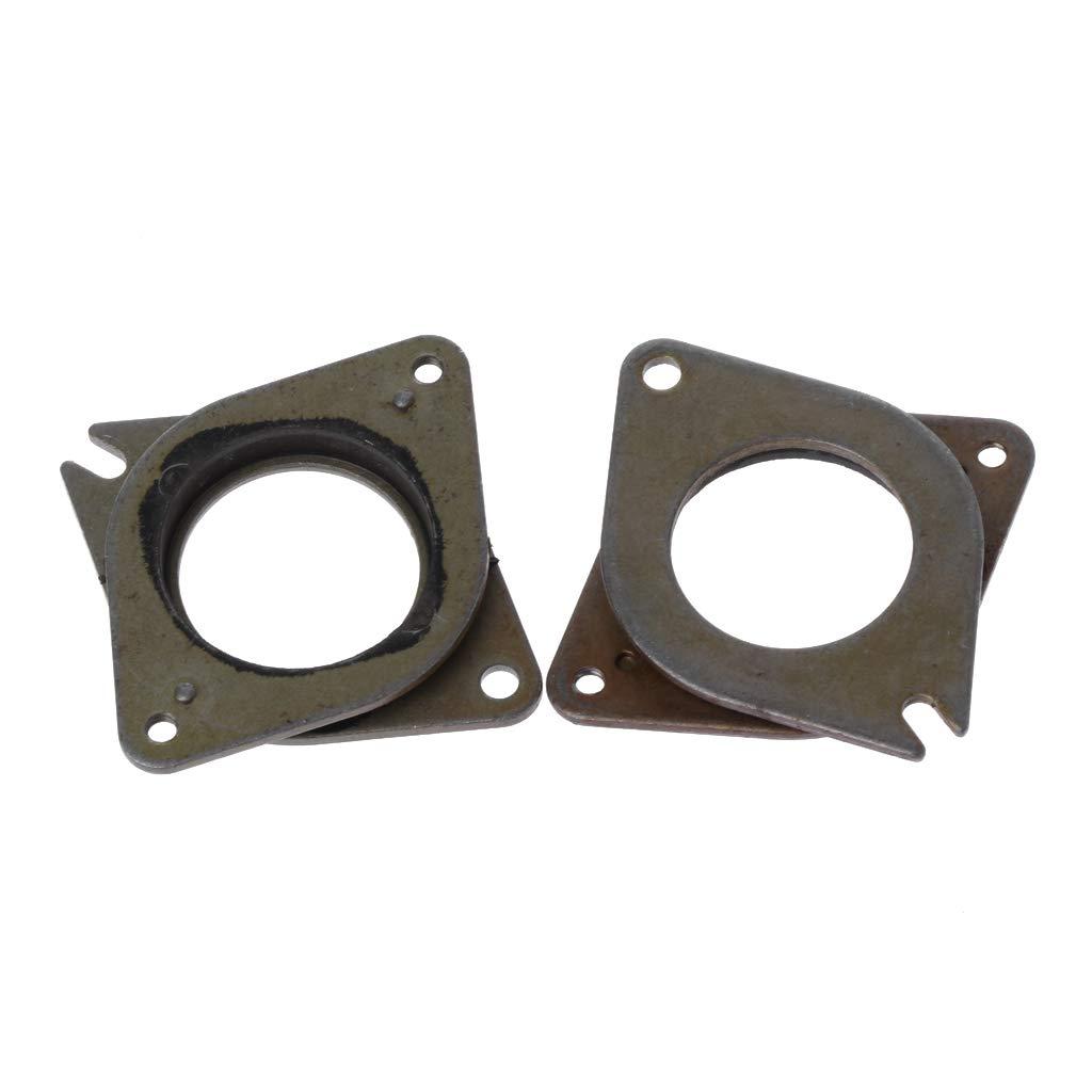 hacloser 5pcs/lot 17 de acero y goma Stepper Motor Vibración ...