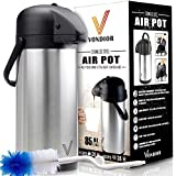 ONE DAY SALE! - Thermal Coffee Airpot - Beverage Dispenser (85 oz.) By