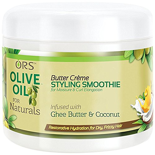 - ORS Olive Oil For Naturals Butter Creme Styling Smoothie