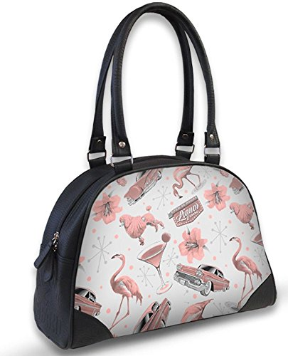 Liquor Brand Damen Tasche Handtasche Vegas B-OBW-048
