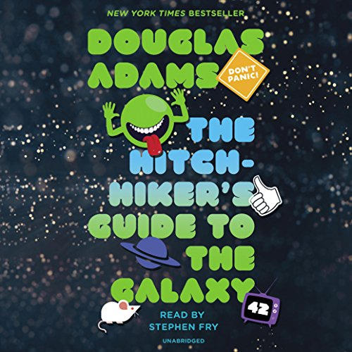 The Hitchhiker's Guide to the Galaxy Audiobook [Free Download by Trial] thumbnail