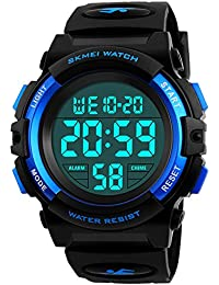 Kids Digital Watch,Boys Sports Waterproof Led Watches...
