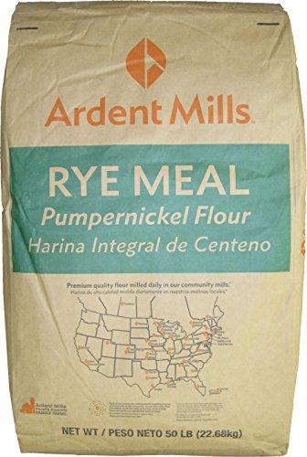 Pumpernickel Flour, Rye Meal 50 Lbs by Ardent Mills