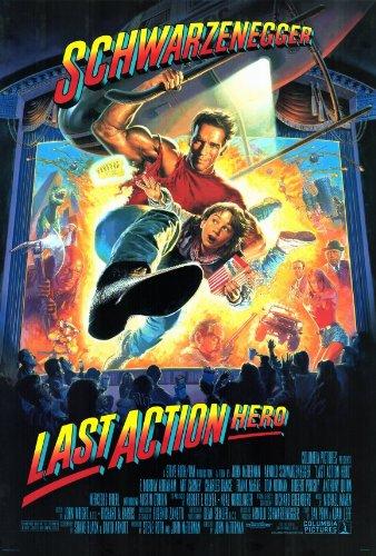 Last Action Hero 11 x 17 Movie Poster - Style B