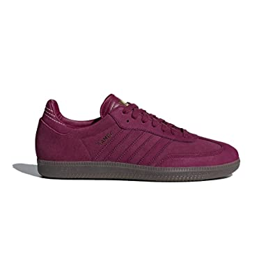 Amazon.com | adidas Men Samba Fb (Red/Mystery Ruby/Gold Metallic) | Fashion  Sneakers