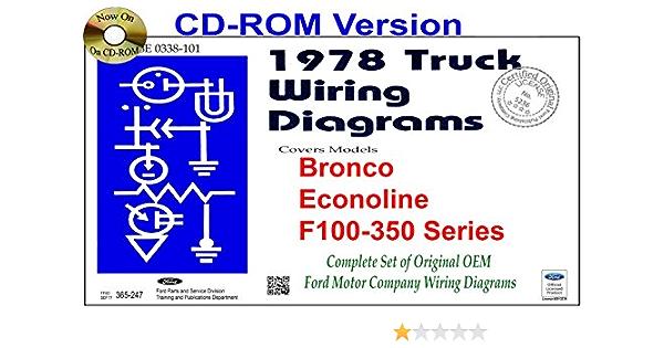 1978 ford truck wiring diagrams (bronco, econoline, f100-350 series): ford  motor company: 9781603712064: amazon.com: books  amazon.com
