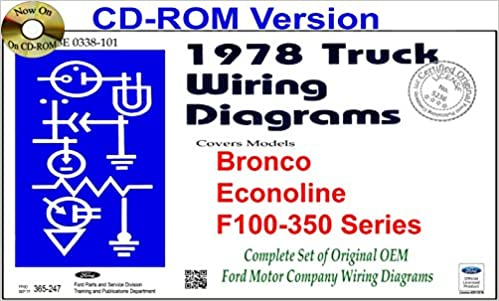 Admirable 1978 Ford Truck Wiring Diagrams Bronco Econoline F100 350 Series Wiring Digital Resources Remcakbiperorg