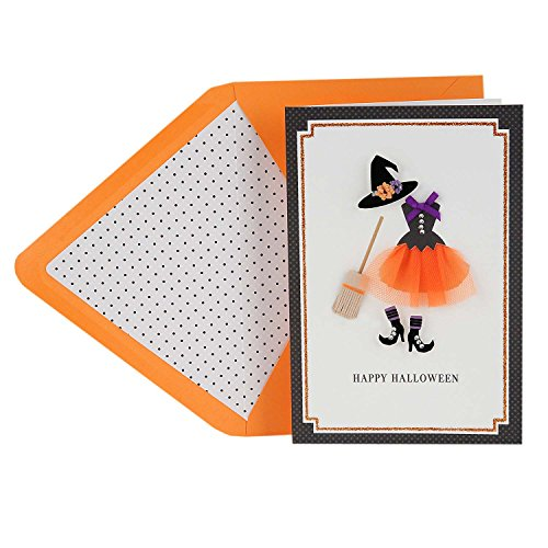 Cute Halloween Greetings (Hallmark Signature Halloween Greeting Card for Friend or Girl (So Cute It's Scary))