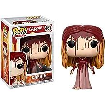 [Patrocinado] Carrie Blanco: Funko POP. Movies X Carrie Vinyl Figura + 1Classic Horror & Sci-Fi películas Trading Card Bundle (20115)
