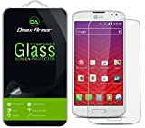 LG Volt Glass Screen Protector, Dmax Armor [Tempered Glass] 0.3mm 9H Hardness, Anti-Scratch, Anti-Fingerprint, Bubble Free, Ultra-clear