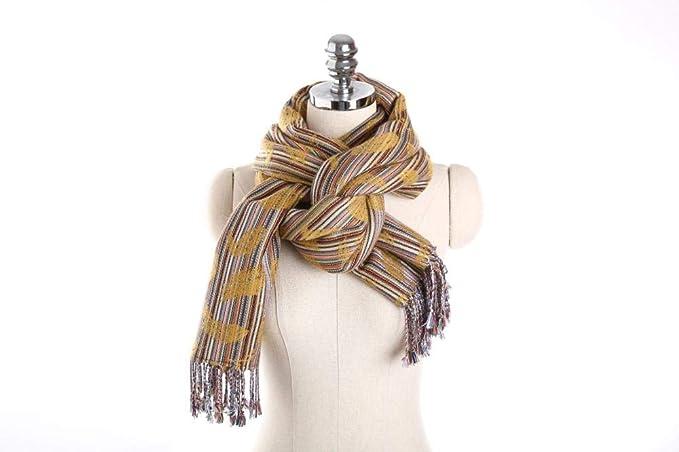 Bufandas elgantes de fiesta hechas de Algodón para mujer.