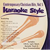 Daywind Karaoke Style: Contemporary Hits, Vol. 5