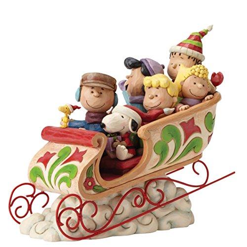 Peanuts Dashing Through Figurine 4052722