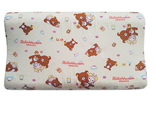 FUNREST Toddler and Kids Contour Pillow, Dunlop Natural Late