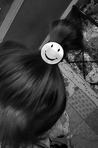 Generic Korean sm smiley Women Head hair rope Ties Ponytail Holder Band Hairband (happy every day) by Generic (Image #3)