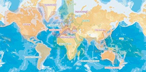 Navionics Updates Global Regions Marine and Lake Charts on SD/MSD by Navionics