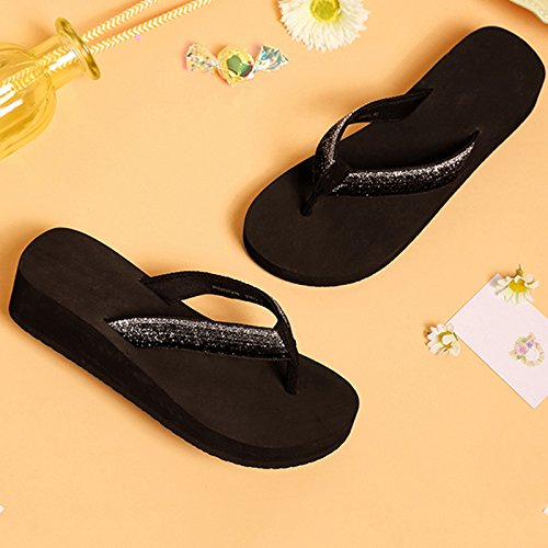 taille Légères Mode Décontractées Tongs Pantoufles Sandales Confort Jianxin 37 Eté Femme IYwzqYBA