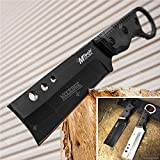 Tactical Knife Survival Knife Hunting Knife G10 Handle Full Tang Fixed Blade Knife Razor Sharp Edge Camping Accessories Camping Gear Survival Kit Survival Gear Tactical Gear 50513