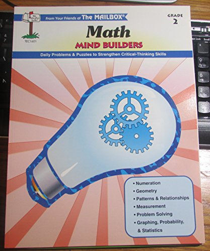 Mind Builders Math (Math Mind Builders (Daily Problems & Puzzles to Strengthen Critical-Thinking Skills, Grade 2))