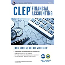 CLEP® Financial Accounting Book + Online